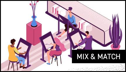 Mix en match